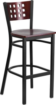 Flash Furniture XUDG60118MAHBARMTLGG Hercules Series Commercial Not Upholstered Bar Stool