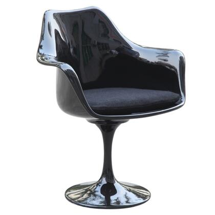 Fine Mod Imports FMI1133 Flower Arm Accent Chair: