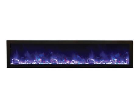 Amantii BI88DEEPOD Panorama Series Wall Mountable Electric Fireplace