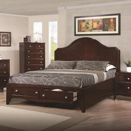Coaster 200780KE Lovinelli Series  King Size Storage Bed