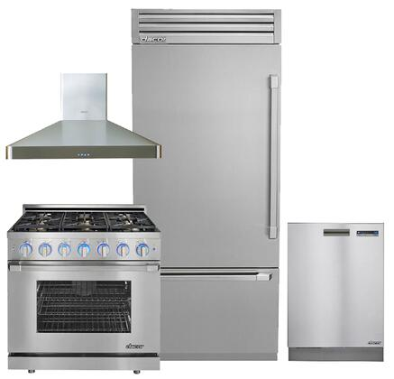 Dacor 664348 Discovery Kitchen Appliance Packages
