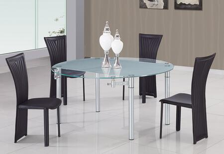 Global Furniture USA 1513WH5pc Dining Room Sets