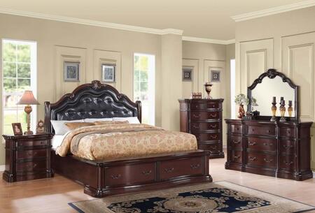 Acme Furniture 20626EK5PC Veradisia King Bedroom Sets