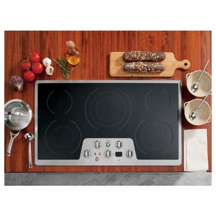 GE Cafe CP650STSS  Electric Cooktop, in Stainless Steel