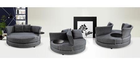 VIG Furniture VG2T0643  Sofa Fabric Sofa