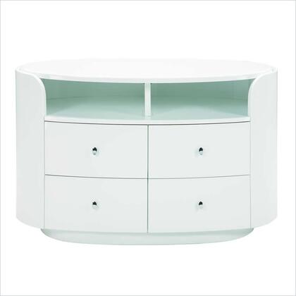 Global Furniture USA EvelynEntertainmentUnit Entertainment Unit with 4 Drawers