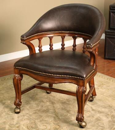 American Heritage 100775  Armless Wood Bonded Leather Gaming Chair