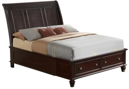 Glory Furniture G1700BKSB  King Size Storage Bed
