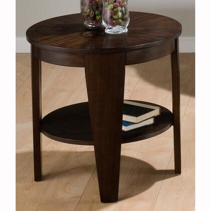 Jofran 7393 Contemporary Round 0 Drawers End Table
