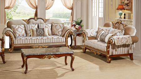 Meridian 6512PCSTLKIT1 Camelia Living Room Sets