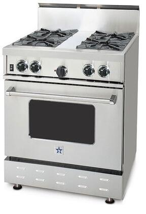 "BlueStar RPB304BV1NG 30"" RPB Series Gas Freestanding"