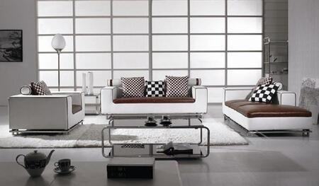 VIG Furniture VGBNBO334 Modern Leather Living Room Set