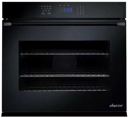 Dacor RNO127Px Single Wall Oven with 4.5 cu. ft. Capaity, Electronic Control Panel, RapidHeat, Hidden Back Element, GlideRacks, Dehydrate and Proof, in Stainless Steel