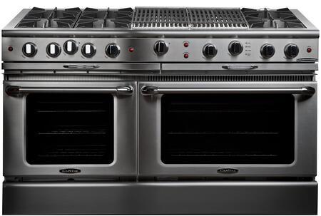 "Capital CGSR604BB2L 60"" Culinarian Series Gas Freestanding"