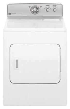"Maytag MGDC300XW 29"" Gas Centennial Series Gas Dryer  Appliances Connection"