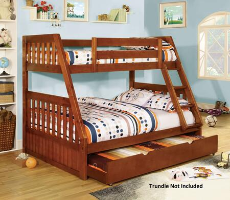 Furniture of America CMBK605ABED Canberra Series  Bed