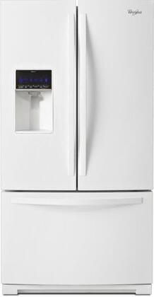 """Whirlpool WRF736SDAW 36""""  French Door Refrigerator with 24.7 cu. ft. Capacity in White"""
