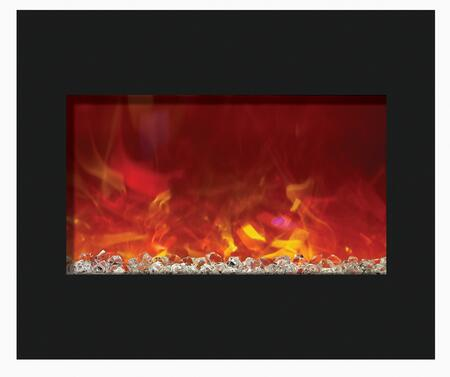 Amantii ZECL303226 Wall Mountable Electric Fireplace
