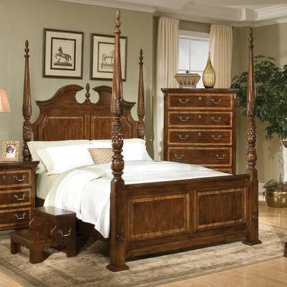 American Woodcrafters 7500050POS  Queen Size Poster Bed