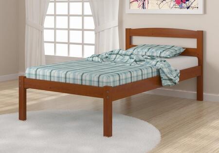 Donco 575E Econo Bed With Full Slats-Mattress Ready: Espresso