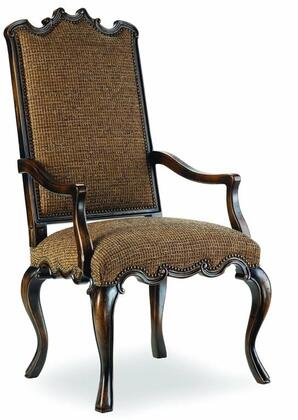 Hooker Furniture 200-35125 Canterbury Series Traditional-Style Dining Room Chair in Ebony