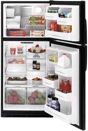 """GE GTS18KCP 30"""" 17.9 cu. ft. Top-Freezer Refrigerator with 4 Glass Shelves, Icemaker, Illuminated Temperature Controls, and Gallon Door Storage"""