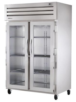 True STG2H-2 Spec Series Two-Section Reach-In Heated Holding Cabinet with 56 Cu. Ft. Capacity, Low-Velocity Fans, and Swing-Doors