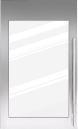 Sub-Zero 702540xx Door Panel with Tubular Handle for IW-30R Model, in Stainless Steel