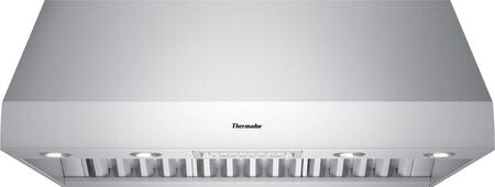 Thermador PHXXGS UL Certified Professional Series Canopy Pro Wall Hood With Powerfully Quiet Ventilation Systems, Washable Stainless Steel Grease Filter, Clean Filter Reminder Light, Heat Lamps, And 3 Fan Speeds: Stainless Steel
