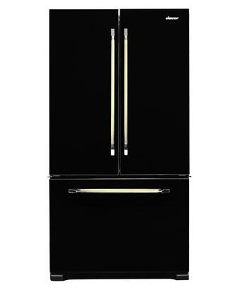 Dacor PF36BNDFBK Renaissance Series Counter Depth French Door Refrigerator with 19.8 cu. ft. Total Capacity