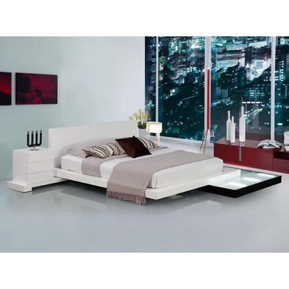 VIG Furniture GALAXYBEDQ  Queen Size Platform Bed