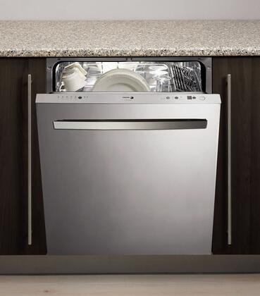 "Fagor LFA086XL 24"" Built-In Fully Integrated Dishwasher"