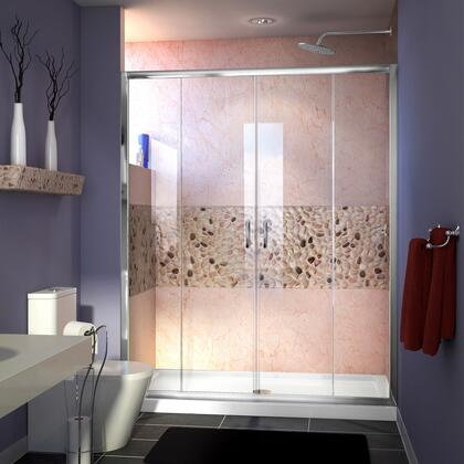 DreamLine Visions Shower Door RS38 12P 16D 16D 12P C E