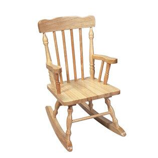 Gift Mark 3100N  Armless  Wood Frame No Rocking Chair