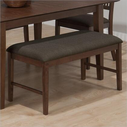 Jofran 49315KD Accent Armless Wood Bench