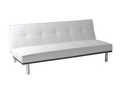 Euro Style 05000WHT Sven Series  Sofa