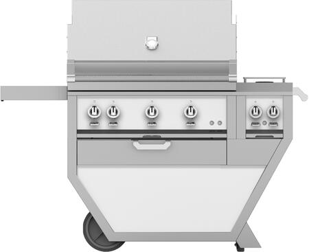 54 in Deluxe Grill with Side Burner    Froth