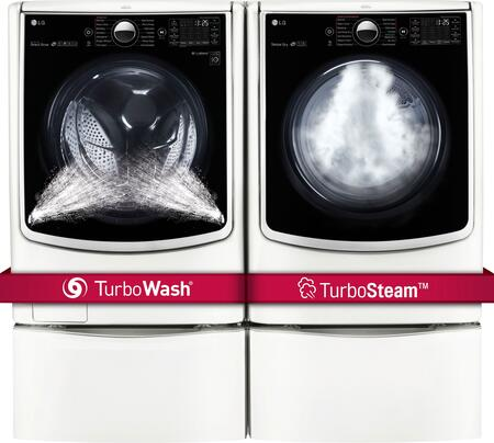 LG 719141 TurboWash Washer and Dryer Combos