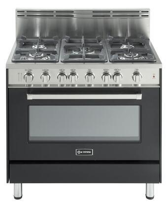 "Verona VEFSGG365E Gas Sealed Burner 36""5 No Yes No Freestanding Range |Appliances Connection"