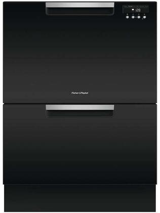 Fisher Paykel DD24DA9 Double DishDrawer with Recessed Handle, in