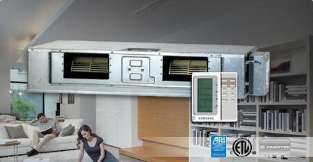 Samsung XH140CAV Mini-Split Air Conditioner Air Conditioner Cooling Area,