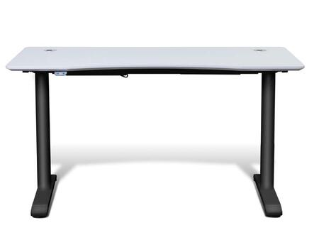 Unique Furniture 75527WH Modern Standard Office Desk