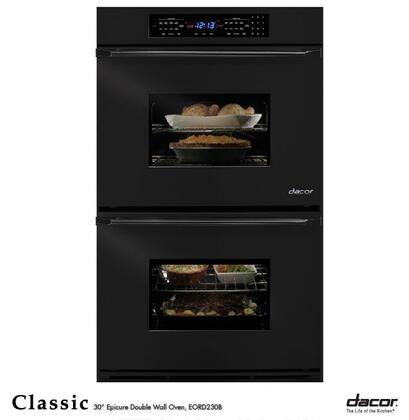 "Dacor Classic EORD227 27"" Double Electric Wall Oven with 3.4 cu. ft. Pure Convection Upper/Lower Ovens, 6 Cooking Modes, RapidHeat Bake Element and Electronic Touch Controls"