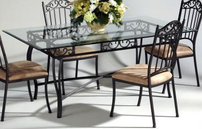 Chintaly 0710DTREC5PIECESET Chintaly Dining Room Sets
