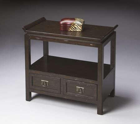 Butler 2157096 Eastern Inspirations Series Traditional Rectangular End Table