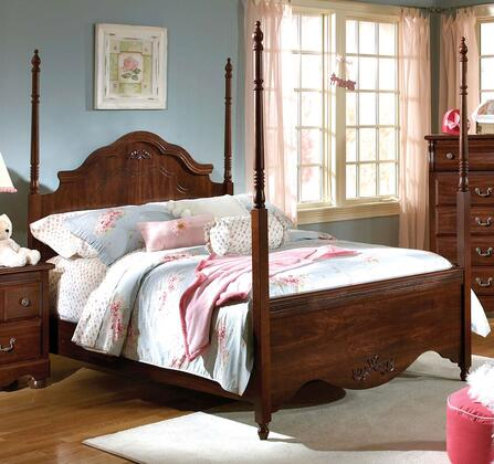 Standard Furniture 56083A Jaqueline Series  Twin Size Canopy Bed