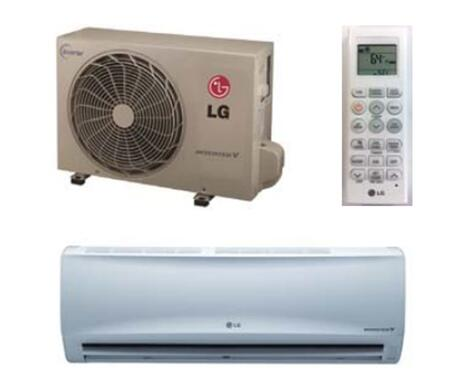 LG LSxx0HXV Single Zone Mega Inverter 150V Mini Split System with Cooling Capacity, Heating Capacity, 4-Way Auto Swing, Sleep Mode, and Gold Fin Anticorrosion