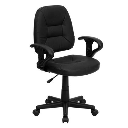 """Flash Furniture BT682BKGG 24.5"""" Traditional Office Chair"""
