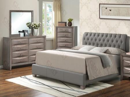 Glory Furniture G1505CQBUPDM G1505 Queen Bedroom Sets