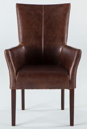 Home Trends & Design WJC127 Jaden Series Armchair Wood Frame Accent Chair